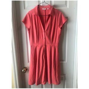 NY&C coral dress